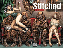 Image: Stitched Terror #1 (variant cover - wraparound) - Avatar Press Inc