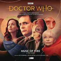 Image: Doctor Who Audio CD: Muse of Fire  - Big Finish