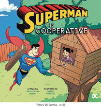 Image: Superman is Cooperative Picture Window Book SC  - Capstone - Picture Window Book