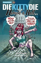 Image: Die Kitty Die!: Heaven and Hell #4 (cover A - Parent) - Chapterhouse Publishing, Inc