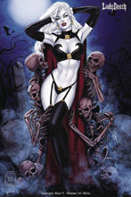 Image: Lady Death: Apocalyptic Abyss #1 (Premium Foil Edition) - Coffin Comics