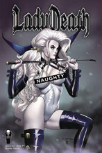 Image: Lady Death: Apocalyptic Abyss #1 (Naughty Edition) - Coffin Comics
