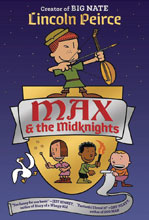 Image: Max and the Midknights Illustrated Young Adult Novel HC  - Crown Books For Young Readers