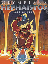 Image: Olympians Vol. 11: Hephaistos God of Fire GN  - First Second (:01)