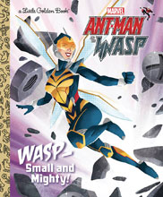 Image: Small and Mighty: Ant-Man & Wasp Little Golden Book  - Golden Books