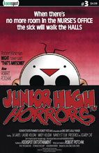 Image: Junior High Horrors #3 (cover B - Dawn of the Dead Parody) - Keenspot Entertainment