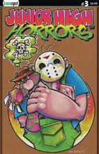 Image: Junior High Horrors #3 (cover C - JV Loves Frederick) - Keenspot Entertainment