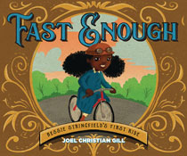 Image: Fast Enough? Bessie Stringfield's First Ride Story Book HC  - Lion Forge