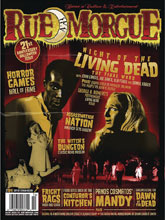 Image: Rue Morgue Magazine #186 - Marrs Media Inc