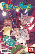 Image: Rick & Morty #46 (cover A - Marc Ellerby, Sarah Stern) - Oni Press Inc.