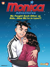 Image: Monica Adventures Vol. 02: We Fought Each Other as Kids Now Were in Love HC  - Charmz