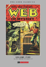 Image: Pre Code Classics: Web of Mystery Vol. 05 HC  - PS Artbooks