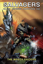 Image: Salvagers Vol. 02: Wreck Raiders SC  - Source Point Press