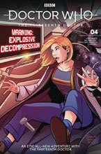 Image: Doctor Who: The 13th Doctor #4 (cover A - Zanfardino) - Titan Comics