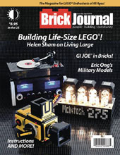 Image: Brickjournal #56 - Twomorrows Publishing