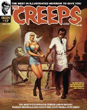 Image: The Creeps #17 - Warrant Publishing Company