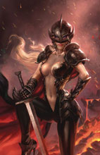 Image: Black Knight #4 (cover C - Burns) - Zenescope Entertainment Inc