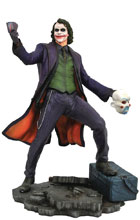 Image: DC Gallery PVC Figure: Batman Dark Knight Movie - Joker  - Diamond Select Toys LLC