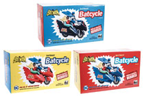 Image: DC Retro Style Batcycle Assortment  - Figures Toy Company