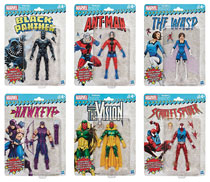 Image: Marvel Super Heroes Vintage 6-Inch Action Figure Set 201802  (8) - Hasbro Toy Group