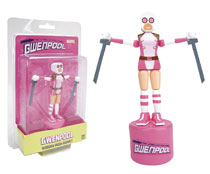 Image: Gwenpool Wood Push Puppet  - Entertainment Earth LLC