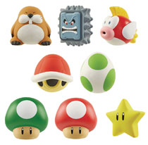 Image: World of Nintendo Squish Toy Blind Mystery Box Wv2 Display  - Jakks Pacific