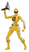 Image: Power Rangers Legacy Dino Thunder Yellow Ranger 6-Inch Action Figure Case  - Bandai America