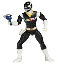 Image: Power Rangers Legacy in Space Black Ranger 6-Inch Action Figure Case  - Bandai America