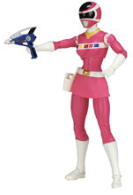 Image: Power Rangers Legacy in Space Pink Ranger 6-Inch Action Figure Case  - Bandai America
