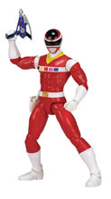 Image: Power Rangers Legacy in Space Red Ranger 6-Inch Action Figure Case  - Bandai America