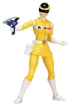 Image: Power Rangers Legacy in Space Yellow Ranger 6-Inch Action Figure Case  - Bandai America