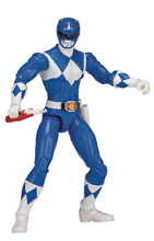 Image: Power Rangers Legacy Mmpr Blue Ranger 6-Inch Action Figure Case  - Bandai America