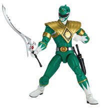 Image: Power Rangers Legacy Mmpr Green Ranger 6-Inch Action Figure Case  - Bandai America
