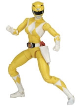Image: Power Rangers Legacy Mmpr Yellow Ranger 6-Inch Action Figure Case  - Bandai America