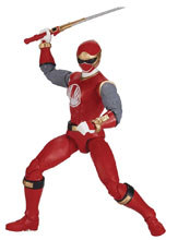 Image: Power Rangers Legacy Ninja Storm Red Ranger 6-Inch Action Figure Case  - Bandai America