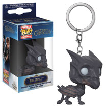 Image: Pocket Pop! Fantastic Beasts 2 Keychain: Thestral  - Funko