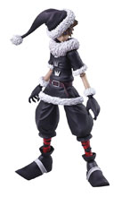 Image: Kingdom Hearts II Bring Arts Action Figure: Sora  (Christmas Town version) - Square Enix Inc