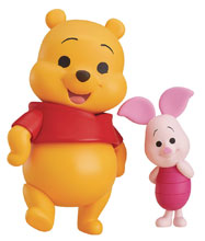 Image: Disney Nendoroid Action Figure: Winnie the Pooh & Piglet  - Good Smile Company