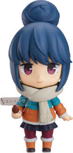 Image: Laid-Back Camp Nendoroid Action Figure: Rin Shima  (Deluxe version) - Max Factory