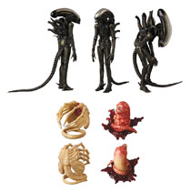 Image: Alien Mafex Action Figure: Xenomorph  - Medicom Toy Corporation