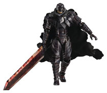 Image: Berserk Guts Figma Action Figure  (Armor version) (Skull Repaint edition) - Max Factory