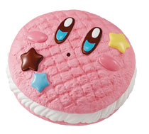 Image: Kirby Super Star Fluffy Squeeze Star Donut Kirby Sand 9-Piece Display  - Megahouse Corporation