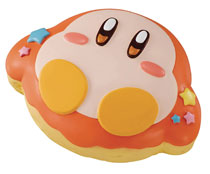 Image: Kirby Super Star Fluffy Squeeze Star Donut Waddle Dee 9-Piece Display  - Megahouse Corporation
