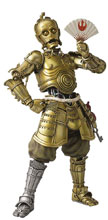 Image: Star Wars Meisho Movie Realization Action Figure: Honyaku Karakuri C-3PO  - Tamashii Nations