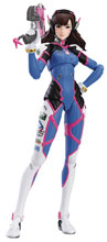 Image: Overwatch Figma Action Figure: D.Va  - Good Smile Company