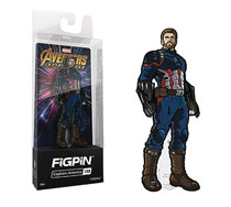 Image: Figpin Marvel Avengers Infinity War Ser2 Pin: Captain America  - Cmd Collectibles