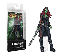 Image: Figpin Marvel Avengers Infinity War Ser2 Pin: Gamora  - Cmd Collectibles