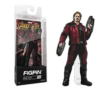Image: Figpin Marvel Avengers Infinity War Ser2 Pin: Star-Lord  - Cmd Collectibles