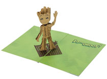 Image: Pop Up Card: Guardians of the Galaxy - Groot  - Insight Editions