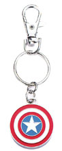 Image: Captain America Keychain: Shield  - Sales One LLC